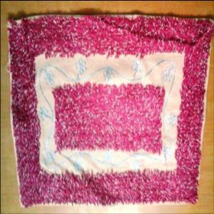 Embroidered Bathmat Stock