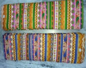 Printed cotton Fabric Stock