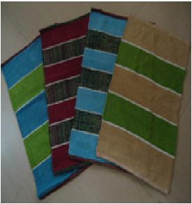 COTTON CHENILLE ASSORTED RUGS