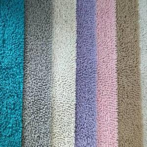 Chenille Shaggy Bathmat stock