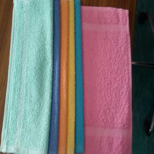 face towels Stock