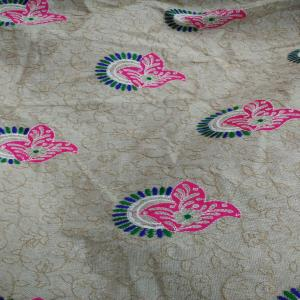 Cotton Embroidery Fabric, Fancy fabric