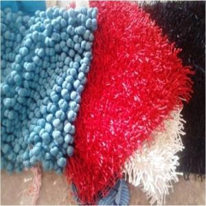 Polyester Shaggy Cushion Covers Stock