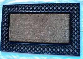 ws-137 COIR BRUSH RUBBER GRILL MAT
