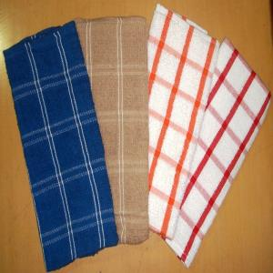 Terry Kitchen towel Stock