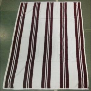 Velour Stripe Terry Towel Stock