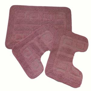 Bathmat Set Of Three Pc Stock