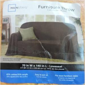 Furniture solid throws Stock