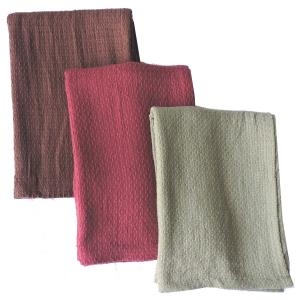 Cotton Solid  Throws Stock