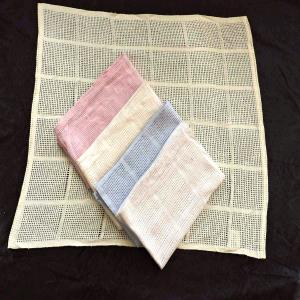 Cotton Net Design  Throws stock