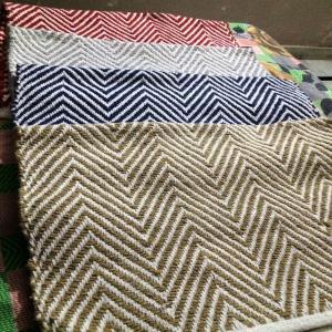 Cheveron Cotton Rugs Stock