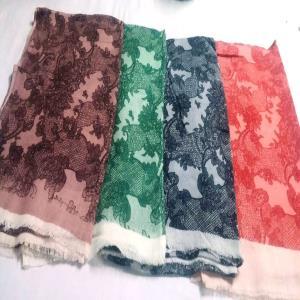 Kani pure Merino 100% wool shawl Stock