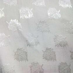 Bemberg Georgette Jacquard with Jari fabric