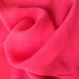 Viscose Crepe Plain Fabrics