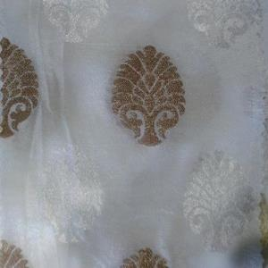 Viscose Jari Butta Fabrics