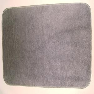 Rubber Latex backed Plain  bathmats Stock