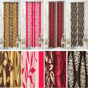 Door Curtains with  Eyelets  Stock