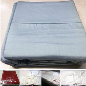 Cotton Satin  Duwet cover with  2 pillows Set Stock