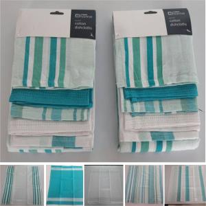 Set of 5 Kitchen Towel Stock