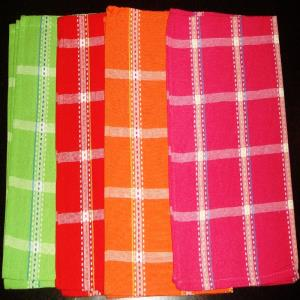 Check Kitchen Towel ( Flat Weave)  Stock