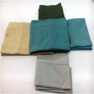 100% cotton Satin  pillow shams Stock