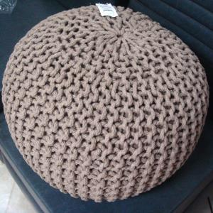 Knitted Pouf Stock