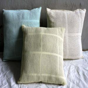 Net Design  Cushion Covers Stock