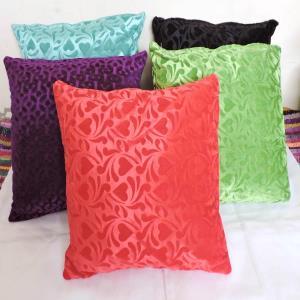 Embosed Velvet   Cushion Covers Stock
