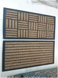 Panama Coir with Rubber Mat Stock