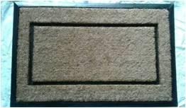Moulded Coir Brush Grill Tufted mat Stock