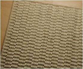 Jute Jacquard Rugs With Rubber backing Stock