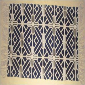Printed Cotton Rug Stock