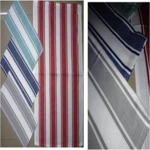 Big stripes Kitchen Towel Stock