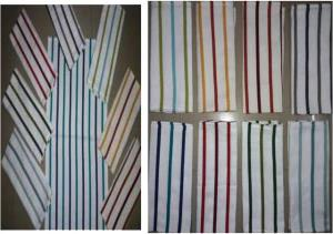 Dopuble clr stripe Stock