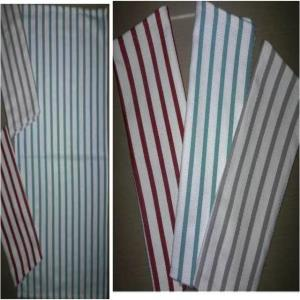 Single stripe Kitchen Towel Stock