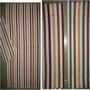 Multi Stripe Kitchen Towel Stock