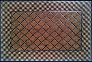 Fancy Color Rubber Pin mat Stock