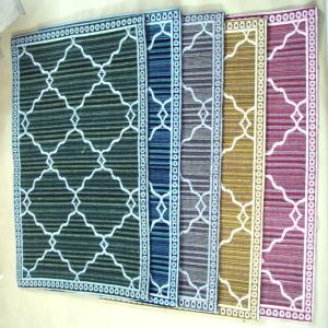 Cotton Jacquard carpets Stock