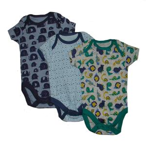 Baby Short Sleeve Bodysuits Assorted