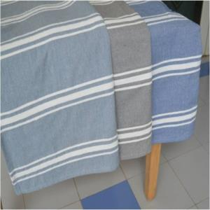 Chambray  Bedthrows Stock