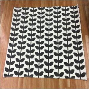 Printed cotton Rugs with Spray latex Backing Stock