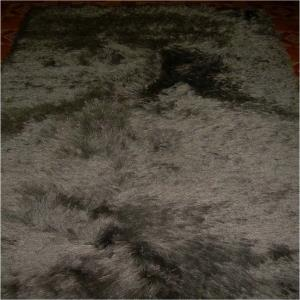 Heavy Polyester  long pile Shaggy Carpets with Canvas  backing Stock
