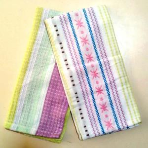 Dobby Tea Towel Set Stock