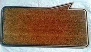 Fancy Color Coir (P.V.C) Rubber Grill Mat Stock