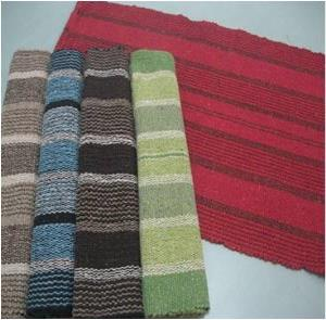 Stripe chain rug Stock