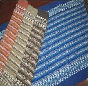 Cotton Full Stripe Rug Stock
