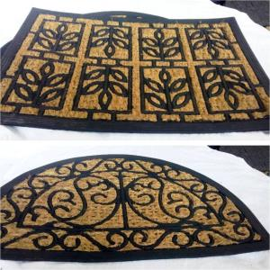 Coir panama Door mat Stock