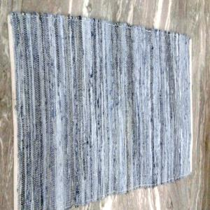 Denim Cotton Rug Stock