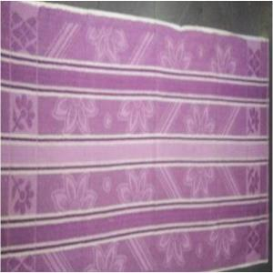 Jacquard beach towel Stock