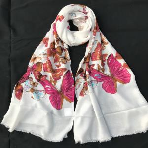 BUTTERFLY DIGITAL PRINT SCARF